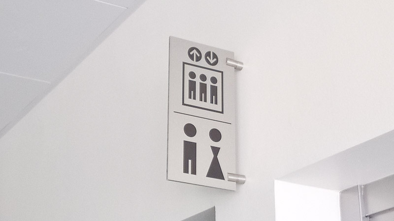 Signys signalisation sur mesure for Decoupe inox sur mesure